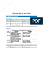 Programacion Tercera Jornada de Investigación