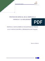 García, S. - Cambios y Continuidades en Las Políticas de Infancia en El INAU