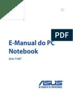Manual Asus t100