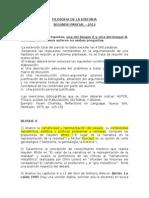 FH 2012 Temas Segundo Parcial
