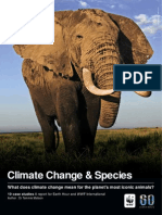 WWF - Climate Change & Species