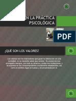 ppt valores psicologicos