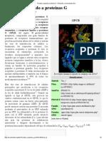 Receptor Acoplado a Proteínas G - Wikipedia, La Enciclopedia Libre