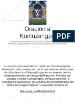 Oracion a Kuntuzangpo