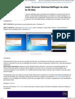 Como Remover o G-Buster Browser Defense_GbPlugin
