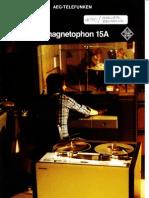 Telefunken Magnetophon 15A