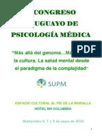 V Congreso Uruguayo de Psicología Médica