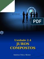 Matematica Unidade 9 -Juros Composto