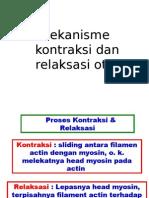 Mekanisme Kontraksi Dan Relaksasi Otot