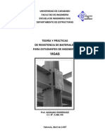 Teoria y Practica de Resistencia de Materiales- Vigas