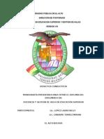 UNIVERSIDAD P+ÜBLICA DE EL ALTO