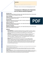 Antecedents and Consequences of Marijuana Use Trajectories