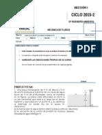 Examen Parcial-mecanica de Fluidos
