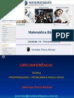 Matematica Unidade 18 - Circunferência