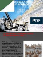 Importancia de La mineria en El Peru