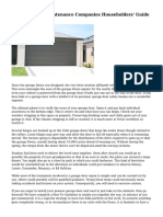 Garage Doors Maintenance Companies  Householders' Guide