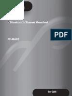 Rocketfish Bluetooth Manual
