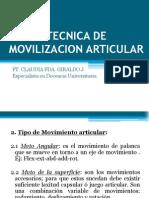 6 Clase Movilizacion Articular