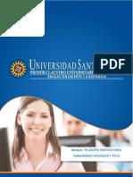 Modulo Filosofia institucional, Humanismo -Sociedad y Ética