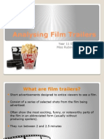 analysing film trailers