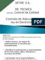 Conscientizacion Ley de Electricidad