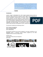 Thames Discovery Programme Research Framework