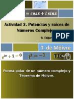 Activity 1-3 de Moivre