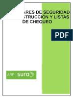 ESTANDARES DE SEGURIDAD  EN LA  CONSTRUCCION Y LISTAS DE CHEQUEO