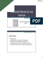 Transferencia de Masa Gases