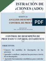 Administración de Operaciones Análisis de Desempeño y Control de Procesos
