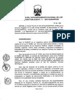 Central Resolución 170 2013 SN