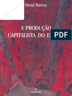 David Harvey - A produç_o Capitalista do Espaço