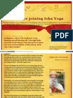 Life After Joining Ishayoga Blogspot in 2013 03 Sadhguru Whe