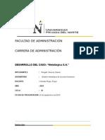 El gerente de recursos humanos de Metalúrgica S.A. José Rodríguez, había presentado a la dirección un excelente plan de reclutamiento para tres cargos creados recientemente