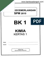 Spm Trial 2015 Chemistry p1 Terengganu