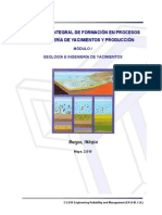 Paper Integral Geologia Yacimiento