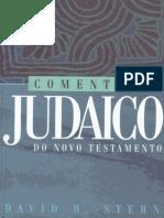 Comentário Judaico Do Novo Testamento - David Stern