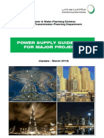 Powe Supply Guidelines for Major Project March 2013 Rev 01
