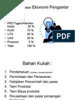 Awal Pengantar Ekonomi Akuntansi