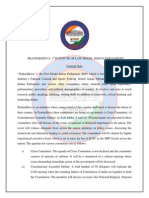 Concept Note Pratinidhitva