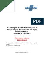 Manual de Aplicacao Radar Inovacao e Glossario