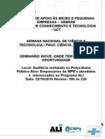 Programação Evento ALI Semana de C&T2015(2)