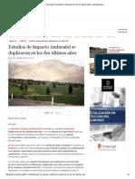 Estudios de Impacto Ambiental Se Duplicaron en Los Dos Últimos Años _ LaRepublica