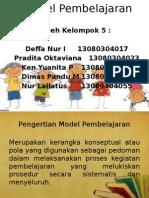 Siap Presentasi Model Pembelajaran