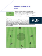 Dribbling and Feinting to Get Ready for 1v1