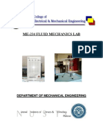 Fluid Mechanics Lab Manual
