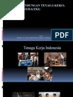 Perlindungan Tenaga Kerja Indonesia(Tki)