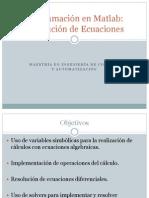 SIMULACION DE SISTEMAS CON MATLAB