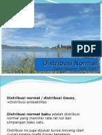 Biostat Inferensial - Distribusi Normal