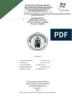 Contoh Laporan Magang Klinik Pdhb Amir-kusuma